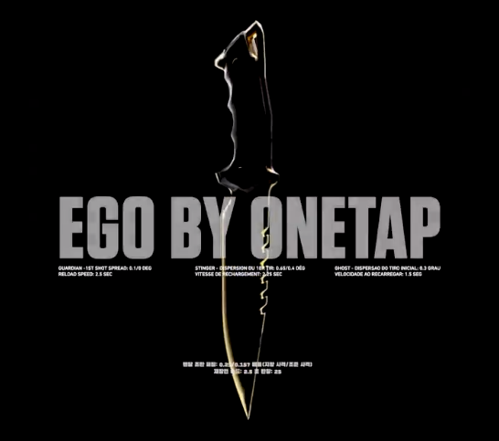 Collection de skins d'arme Valorant EGO by OneTap