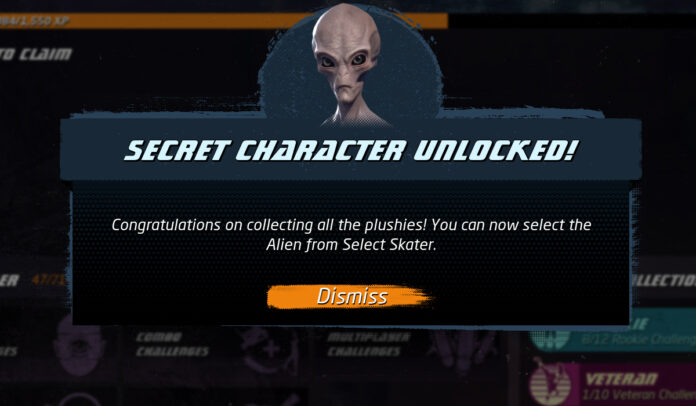 Alien Plushies Locations in Tony Hawk