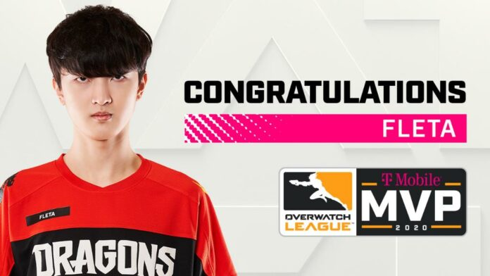 Fleta des Dragons de Shanghai nommée MVP OWL 2020