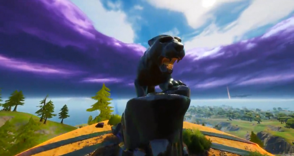 Black Panther Fortnite Panther's Prowl