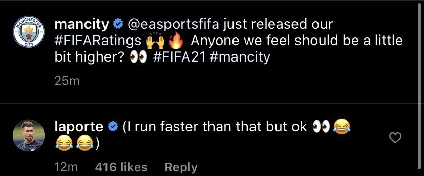 Man City FIFA 21 Notes