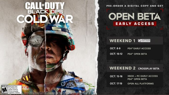 Call of Duty black ops Cold war open beta access