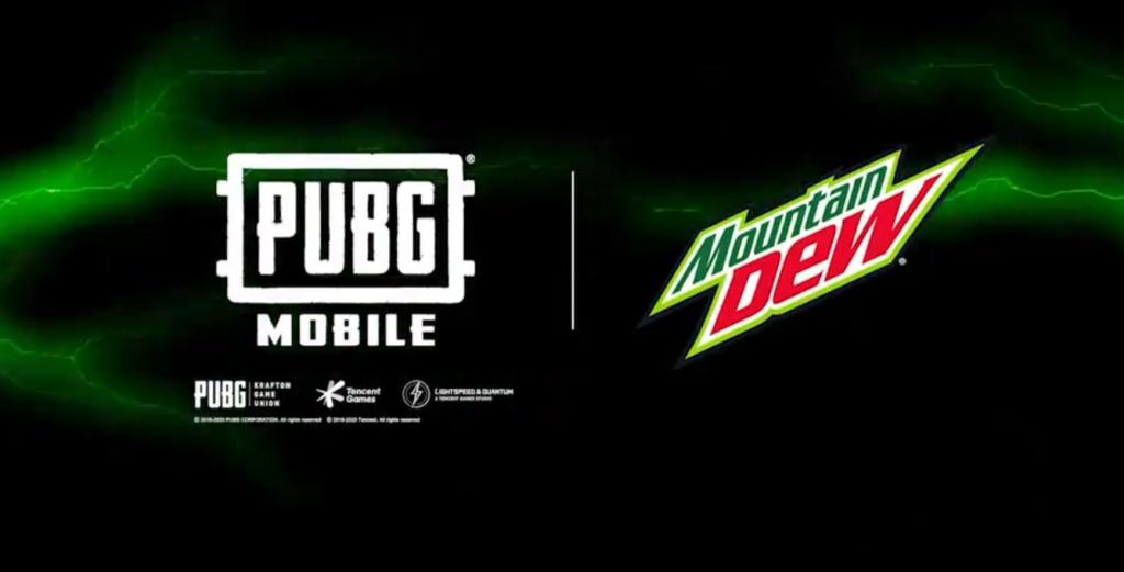 Distributeurs automatiques PUBG Mobile Mountain Dew