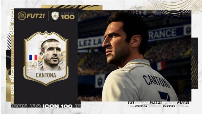 ERIC CAntona FIFA 21
