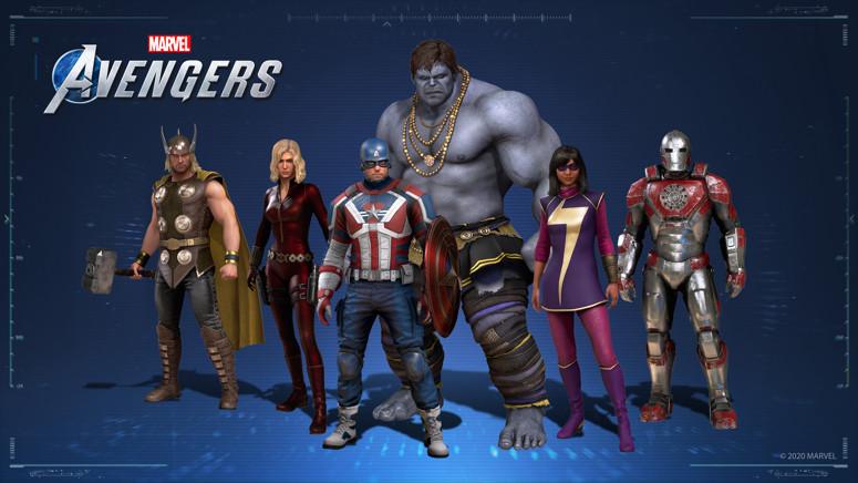 Marvel Avengers construit 12,11 pc,