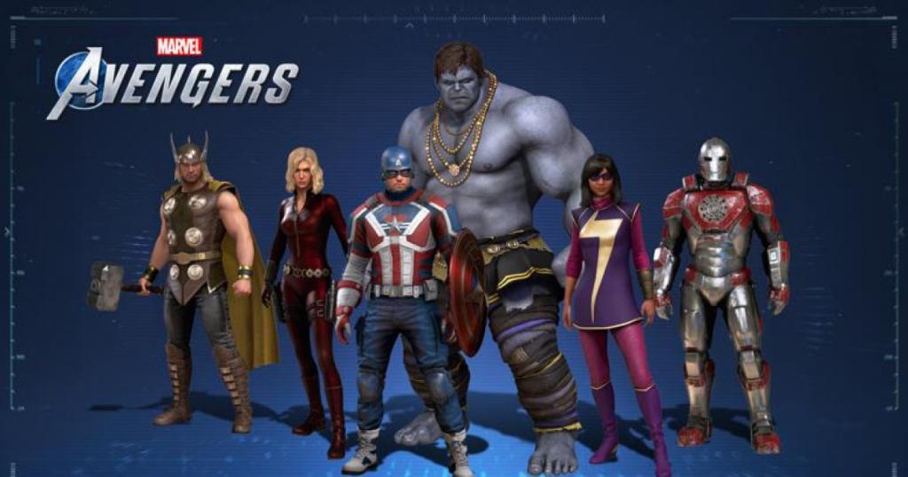 Les skins des Avengers de Marvel disparaissent des skins manquants
