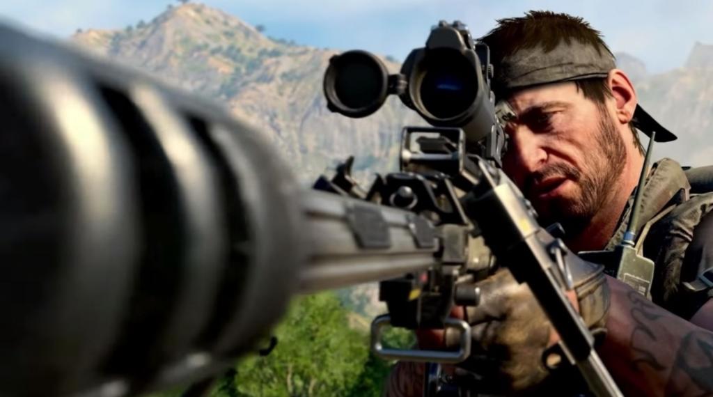 Call of Duty Black Ops Sniper Sniper de la guerre froide surpuissant OP Playstation 4 PS4