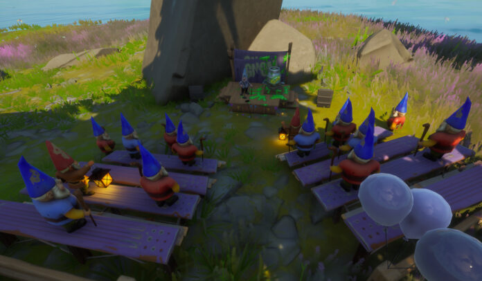 The Gnome Talk Location - Secret Fortnite Challenge