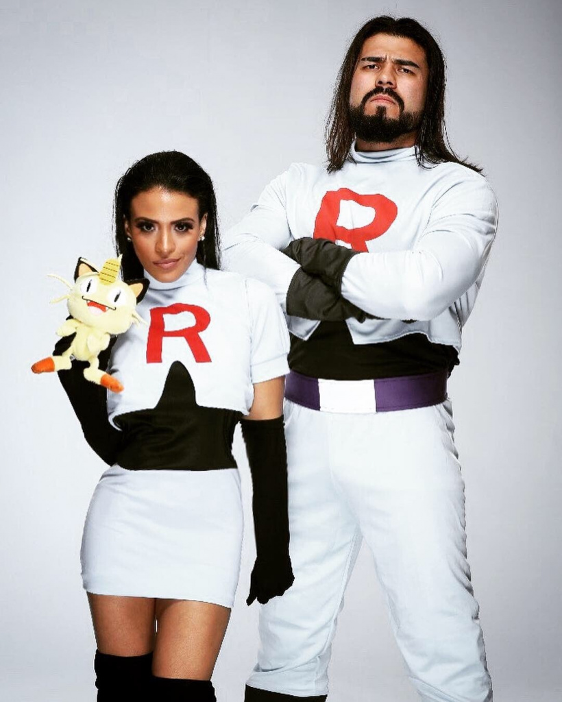 Zelina Vega meilleur cosplay James et Jesse