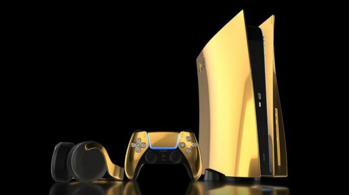 Les précommandes PS5 commencent le 10 septembre pour une édition en or 24 carats d'une valeur de 8000 £