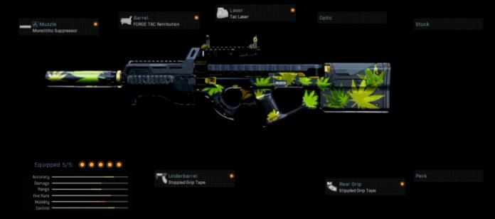 Nickmercs best P90 loadout warzone