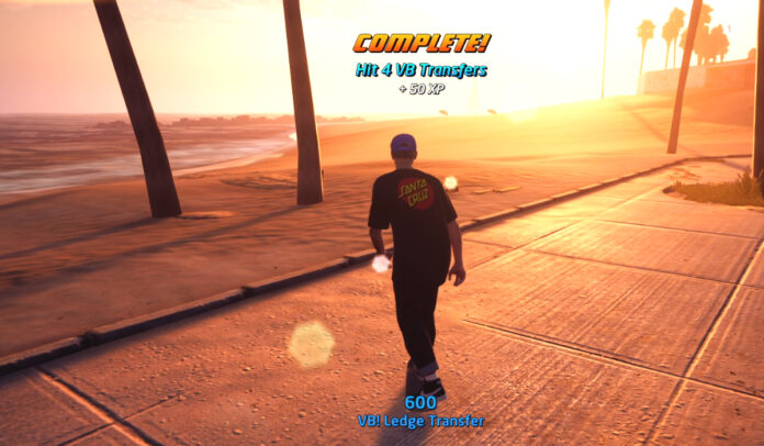 Where to hit 4 VB Transfers on Venice Beach in THPS
