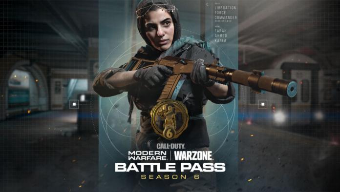 Passe de combat de la saison 6 de Call of Duty Warzone