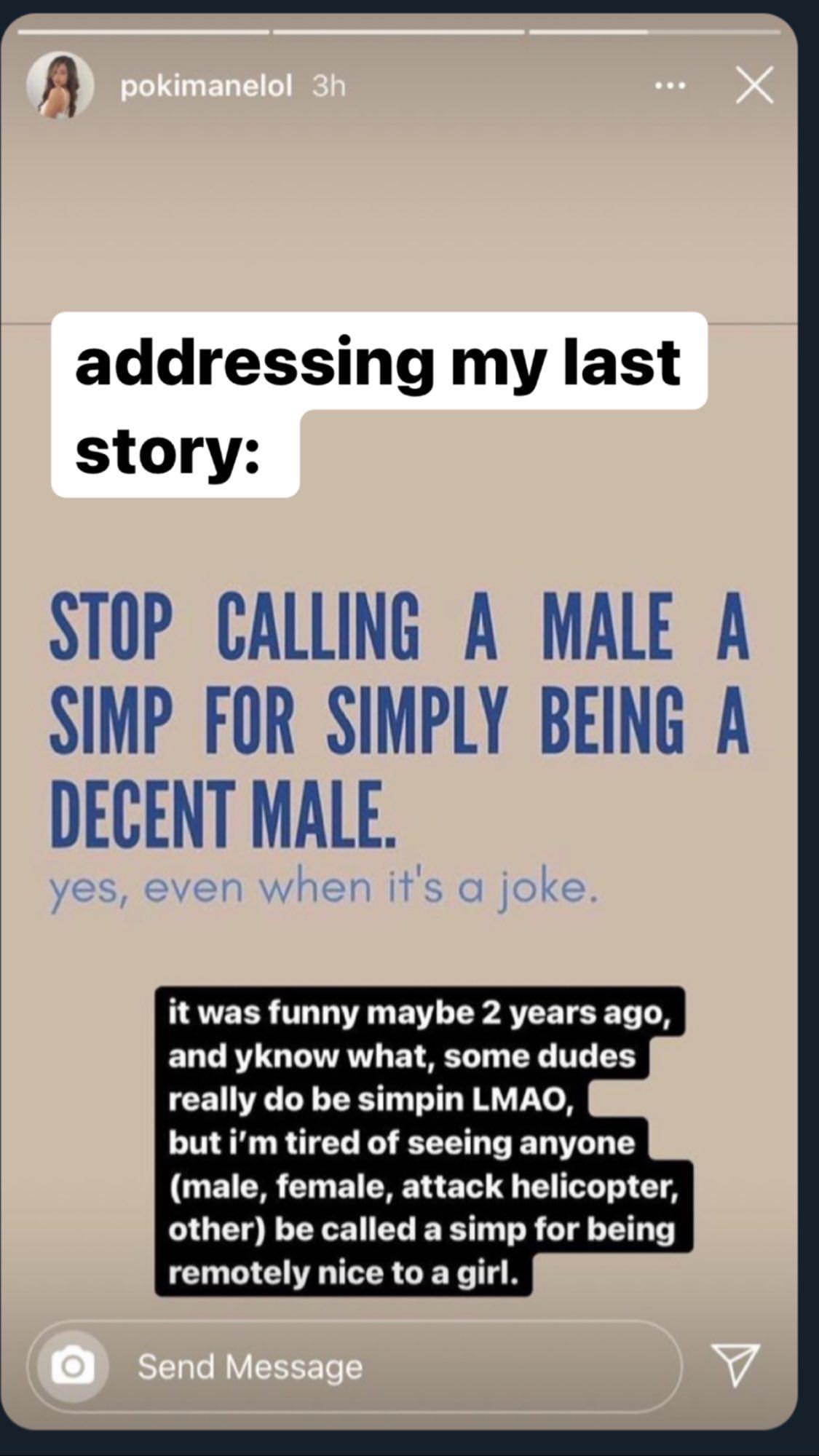 Insulte transphobe Pokimane