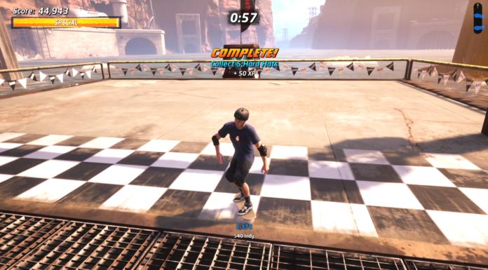Récupérez 5 emplacements de casques durs dans Downhill Jam Tony Hawk's Pro Skater 1 + 2