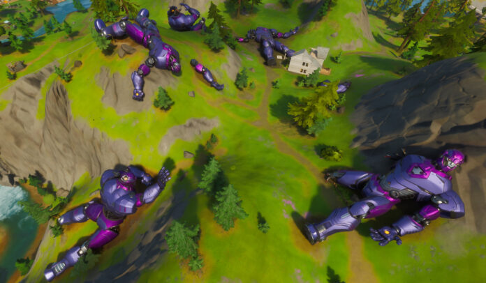 Sentinel Heads and Sentinel Graveyard Location in Fortnite