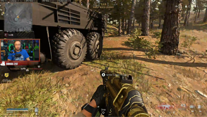 Twitch streamer Maximilian obtient une tuerie hilarante dans Warzone en conduisant un camion