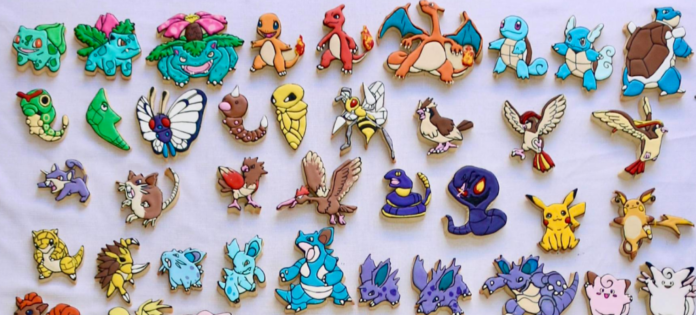 Un fan talentueux de Pokémon prépare des biscuits de tous les 151 monstres originaux