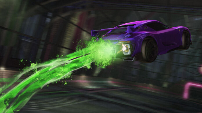 Celebrate Ghostbusters with Rocket League