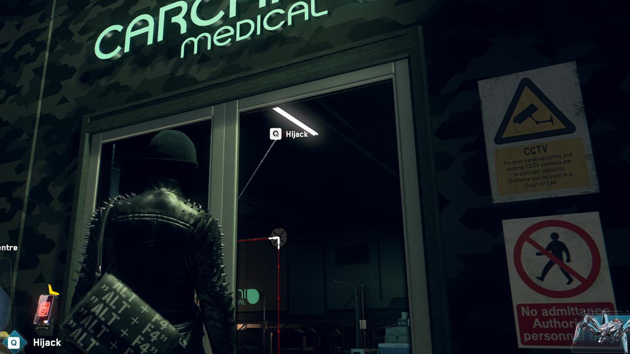 Comment déverrouiller la porte de la clinique médicale dans Watch Dogs: Legion
