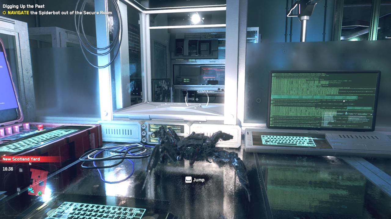 Comment faire sortir le Spiderbot de la salle sécurisée de Watch Dogs Legion