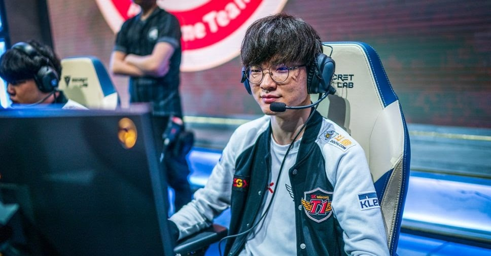 Faker meilleur joueur de League of Legends