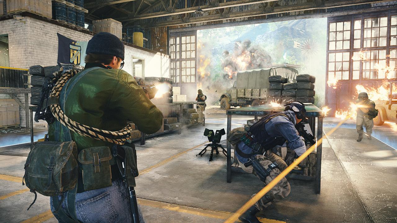 Mises à niveau des champs de la guerre froide Call of Duty Black Ops