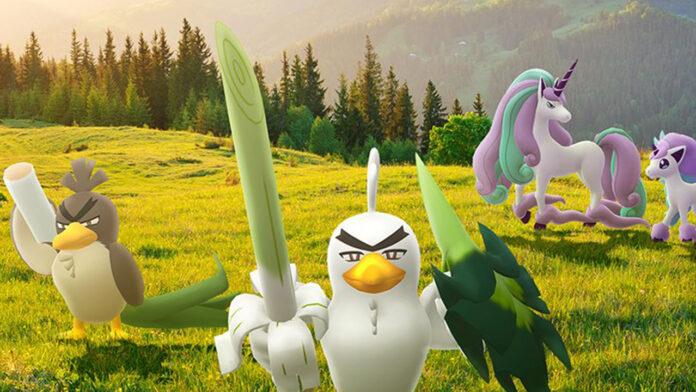 Pokemon Go ajoute Galarian Ponyta et Sirfetch'd