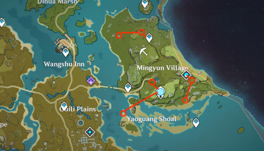 Samachurl Farm Route 1
