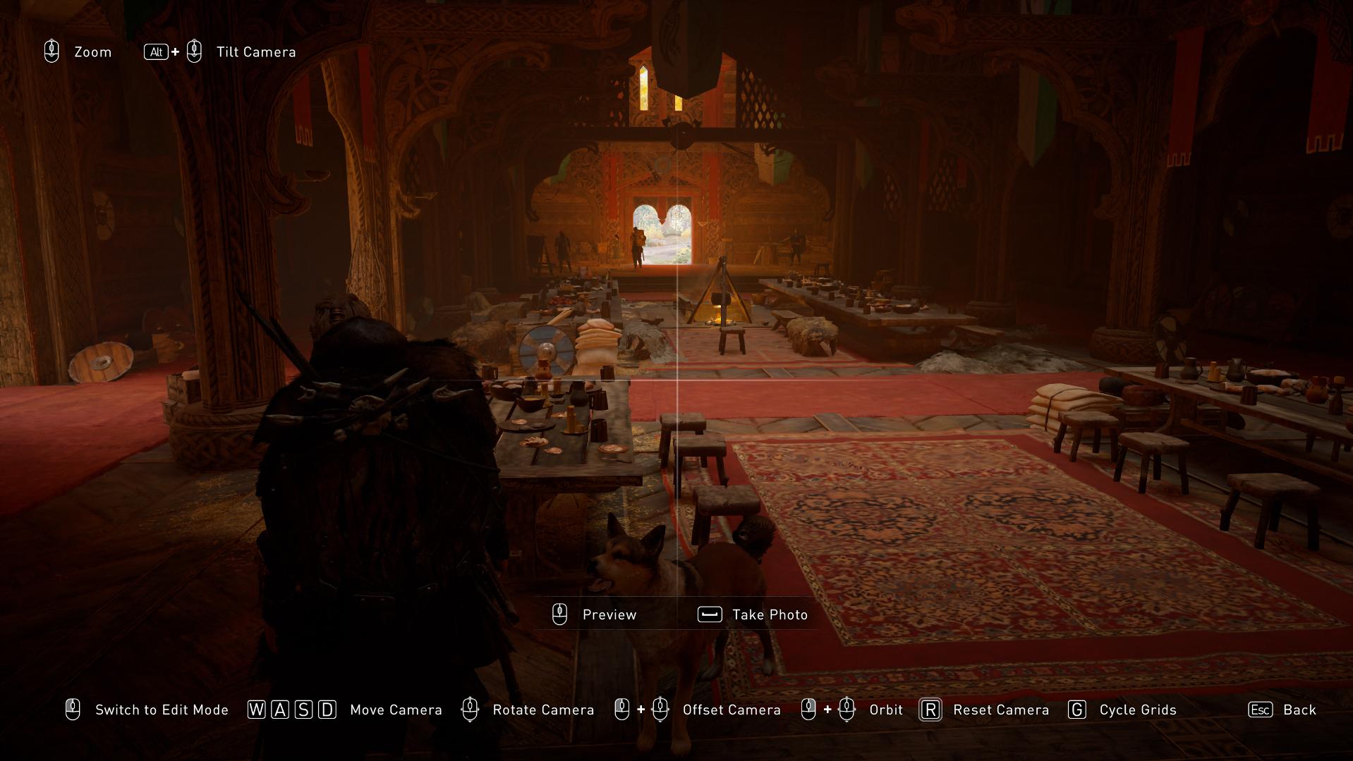 Comment utiliser le mode photo dans Assassin's Creed Valhalla - Instantané