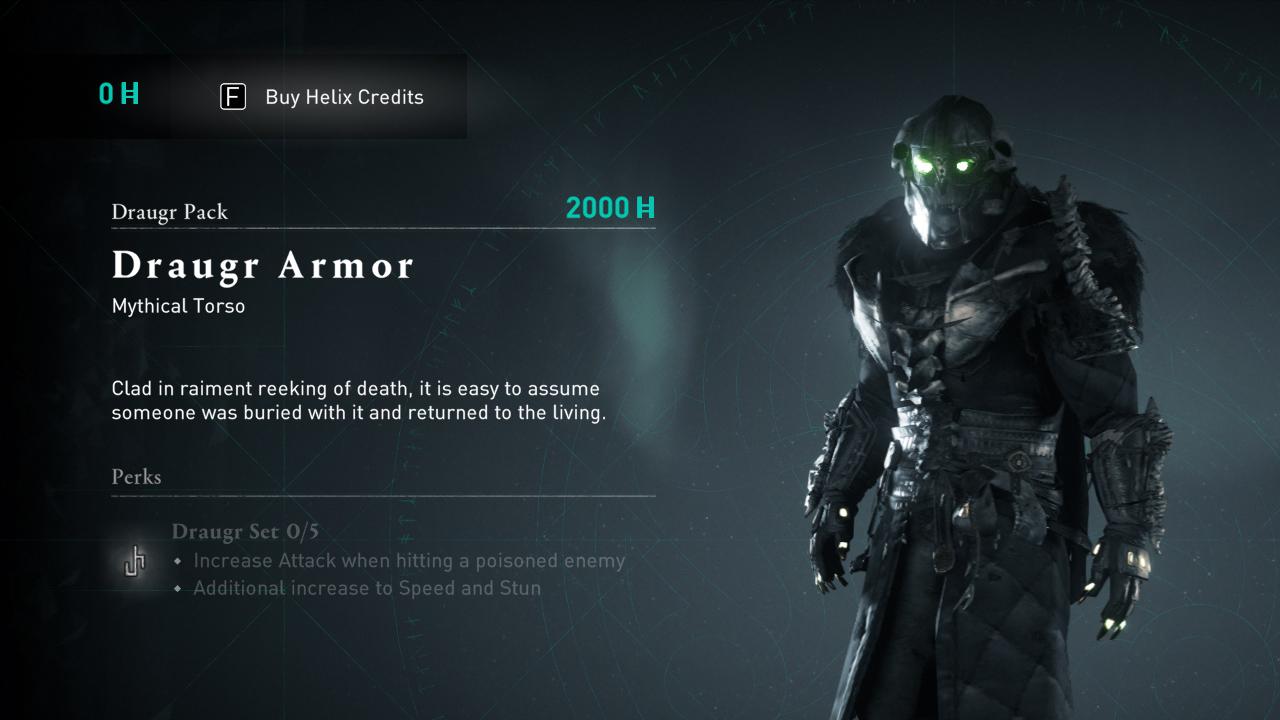 Comment obtenir de l'équipement Draugr dans Assassin's Creed Valhalla »wiki utile Armure