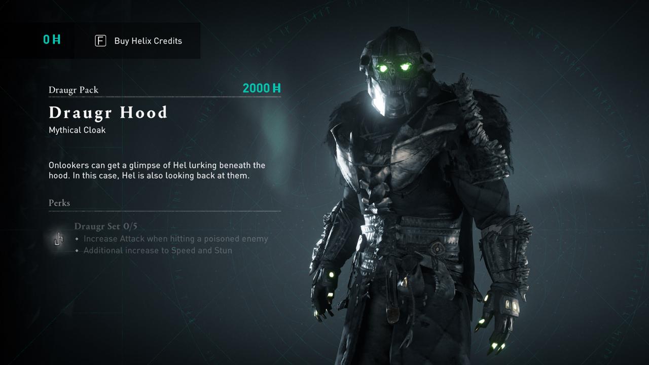 Comment obtenir de l'équipement Draugr dans Assassin's Creed Valhalla »wiki utile Manteau