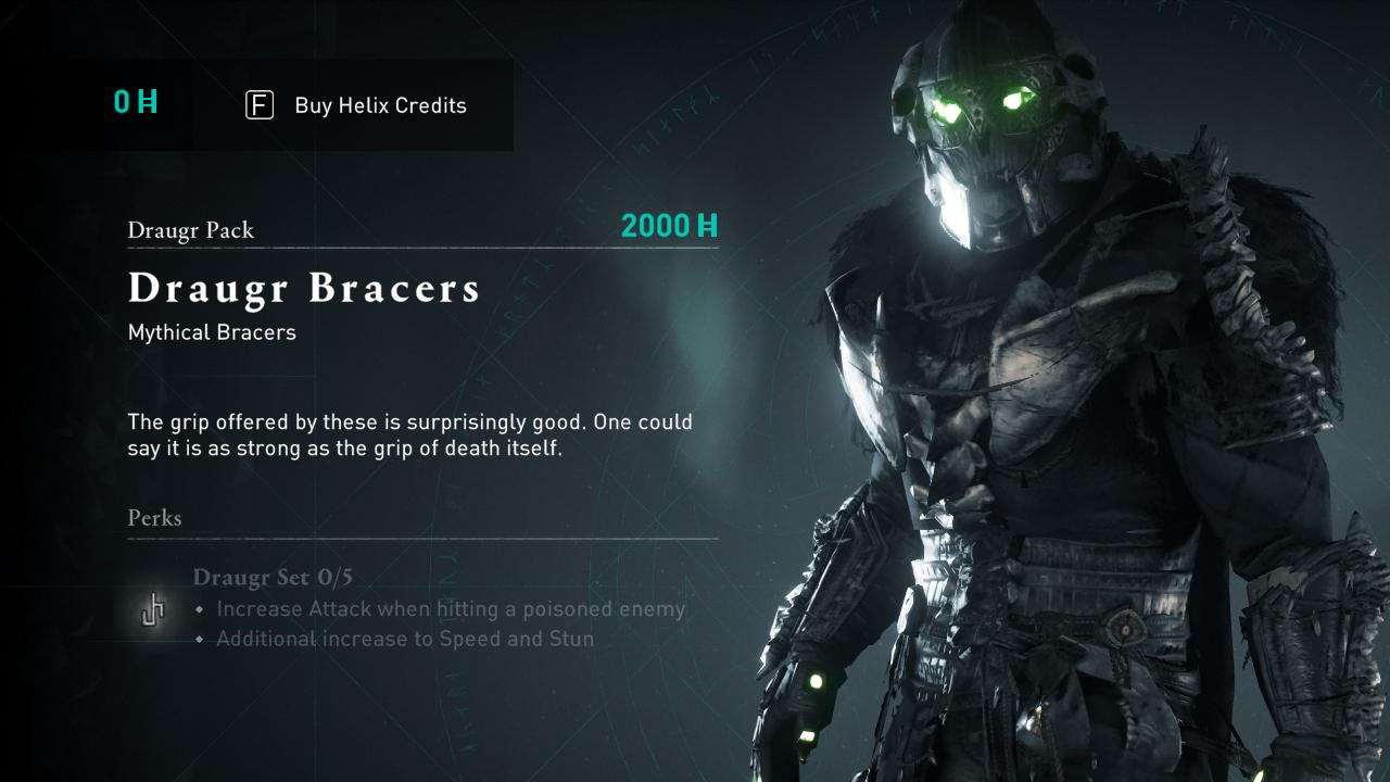Comment obtenir de l'équipement Draugr dans Assassin's Creed Valhalla »wiki utile Brassards
