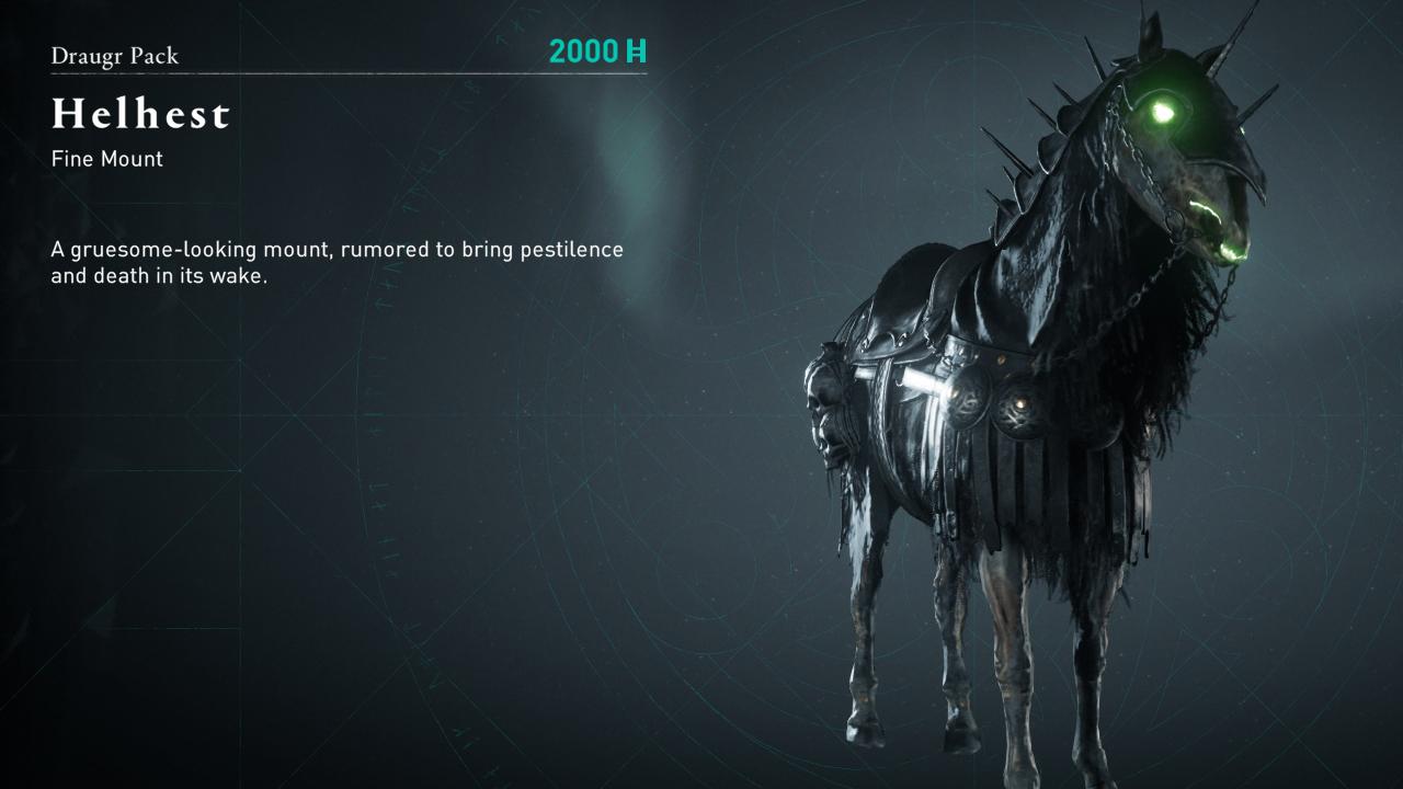 Comment obtenir de l'équipement Draugr dans Assassin's Creed Valhalla »wiki utile Helhest