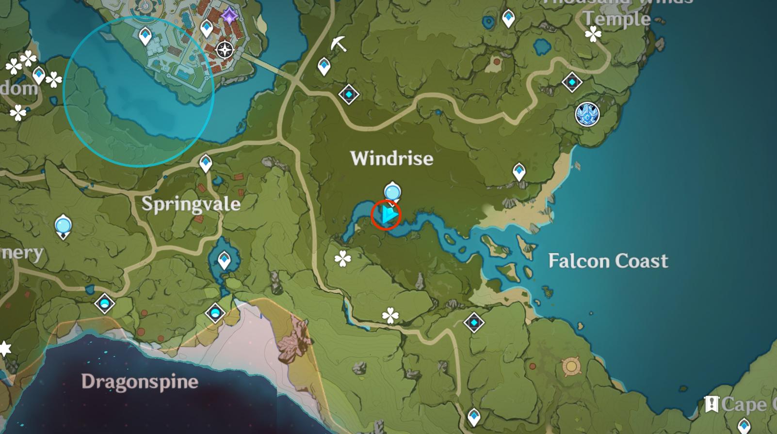 Lieu insolite de Hilichurl 7 - Windrise