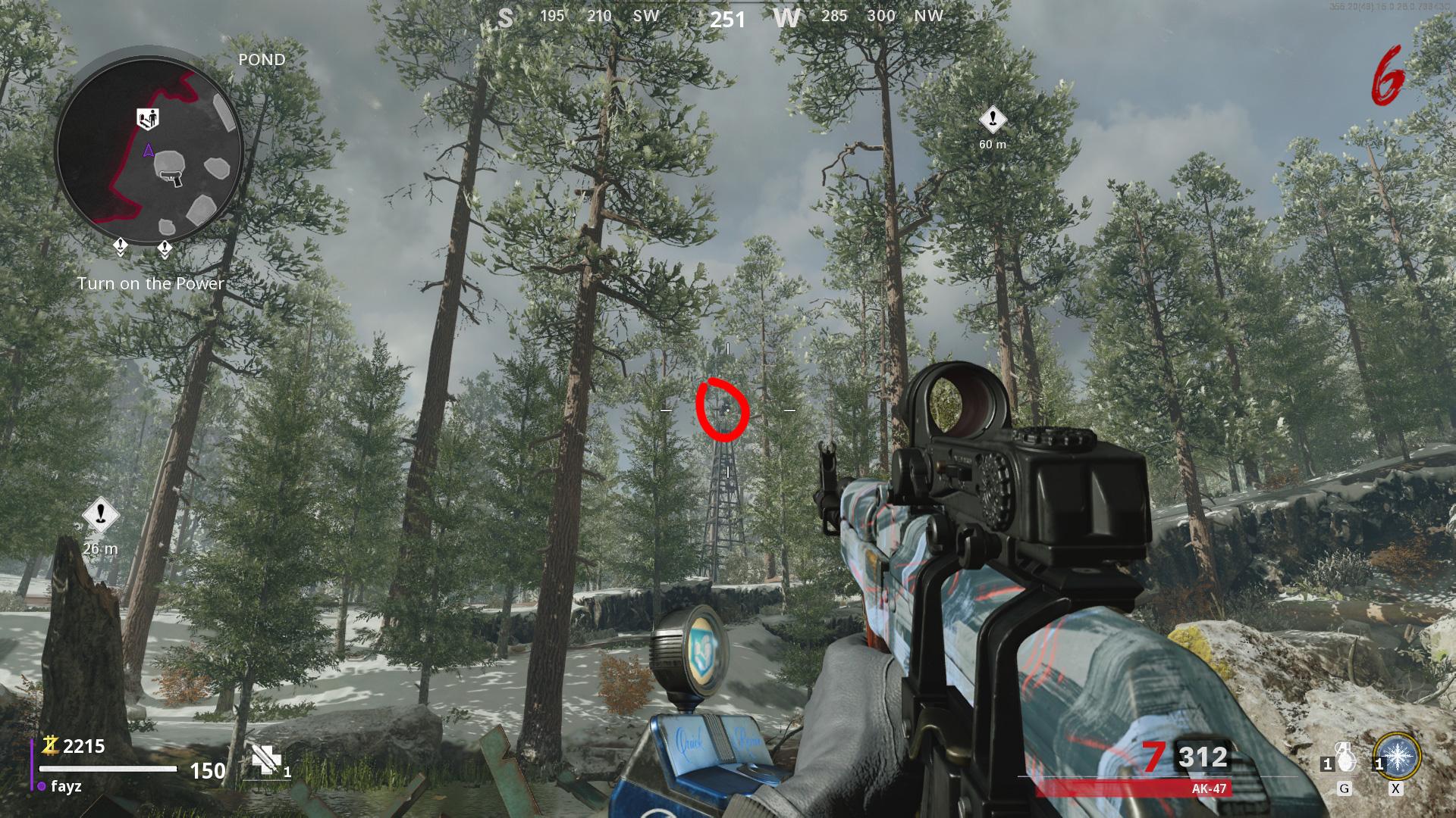 Satellite Zombies Black Ops - Étang