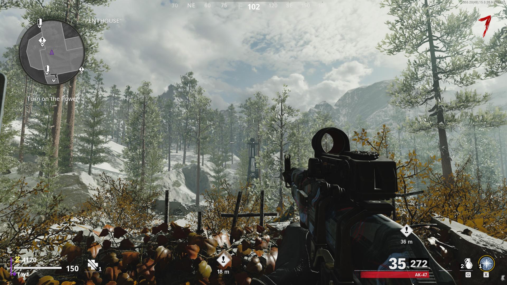 Antenne parabolique Œuf de Pâques Black Ops Zombies de la guerre froide