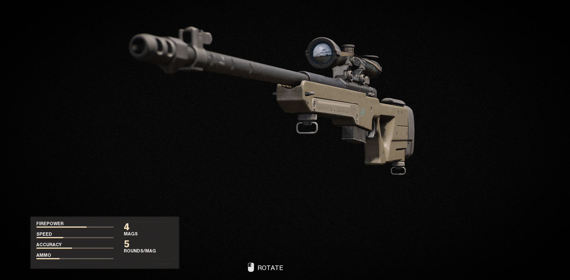 Armes de la guerre froide Call of Duty Black Ops - LW 3 Tundra