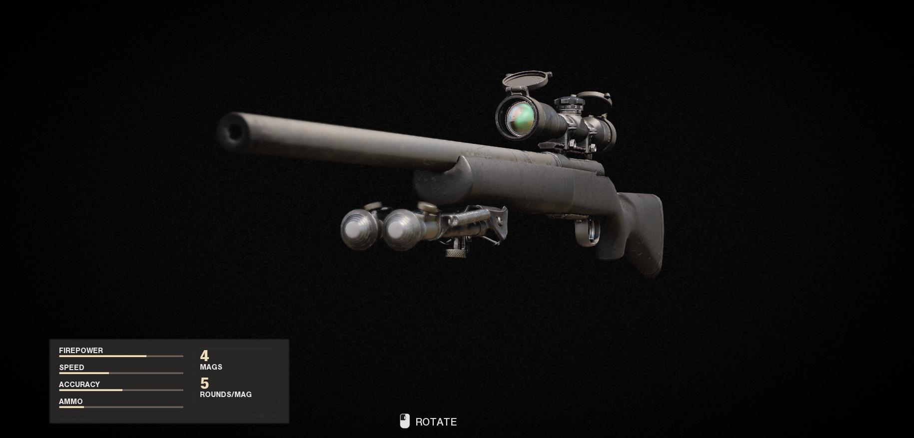 Armes de la guerre froide Call of Duty Black Ops - Pelington 703