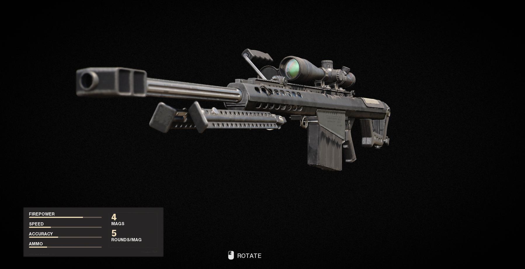 Armes de la guerre froide Call of Duty Black Ops - M82