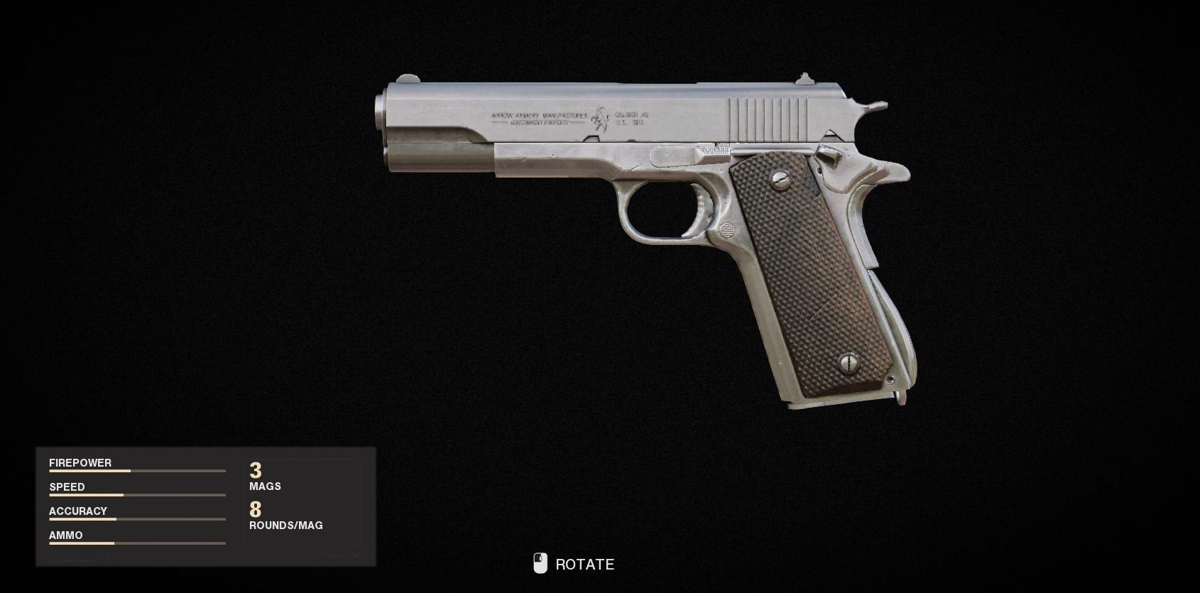Armes de la guerre froide Call of Duty Black Ops - 1911