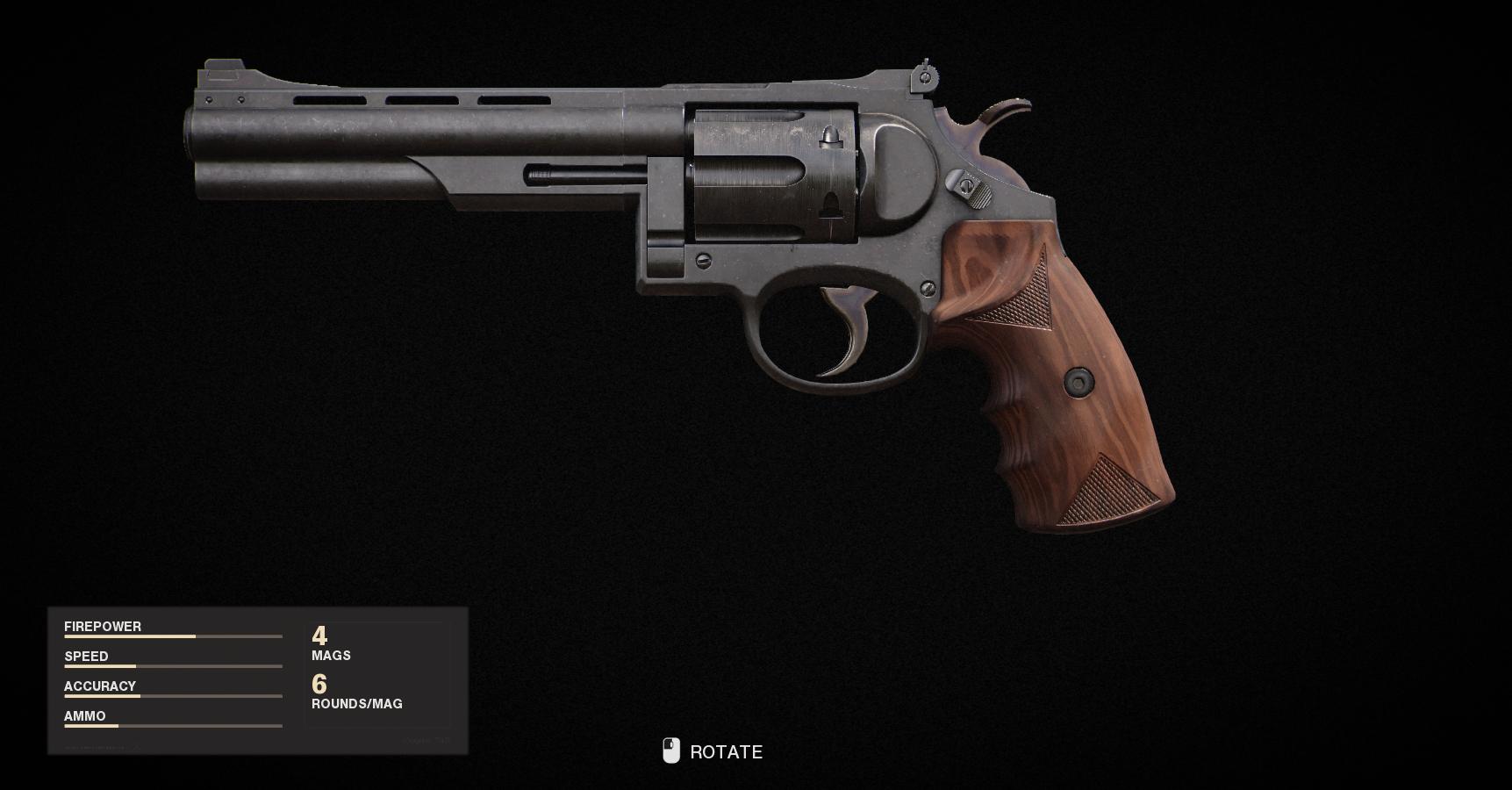 Armes de la guerre froide Call of Duty Black Ops - Magnum