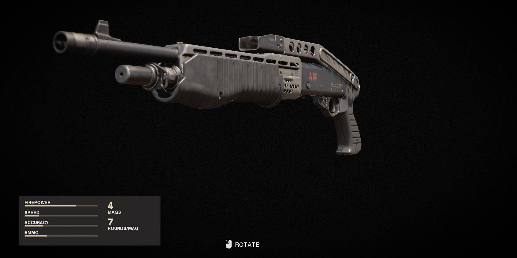 Armes de la guerre froide Call of Duty Black Ops - Gallo SA 12