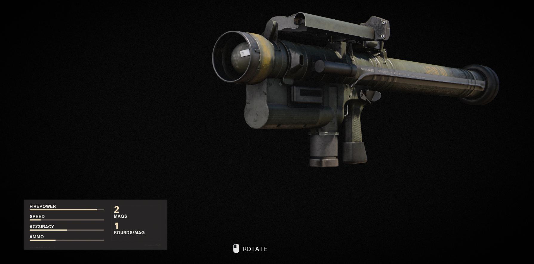 Armes de la guerre froide Call of Duty Black Ops - Cigma 2