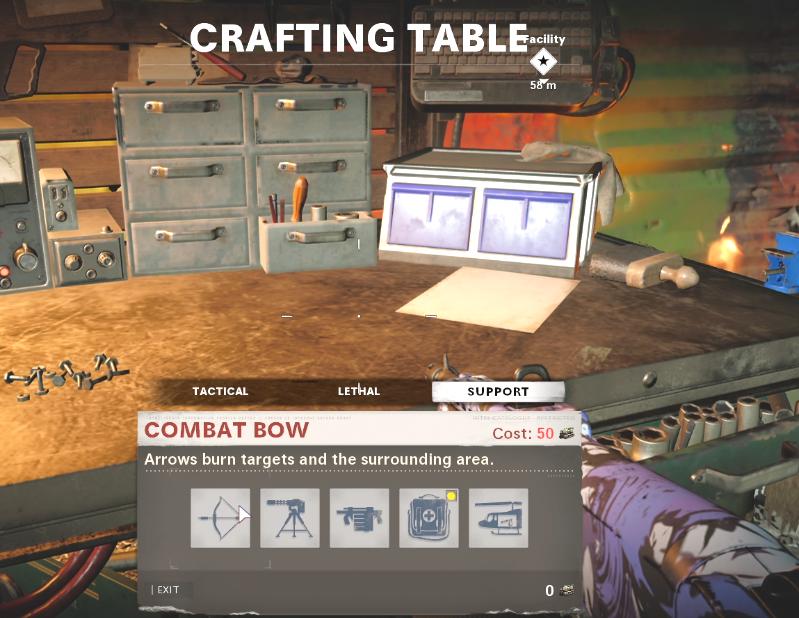 Tous les objets de table d'artisanat dans Black Ops Cold War Zombies - Support