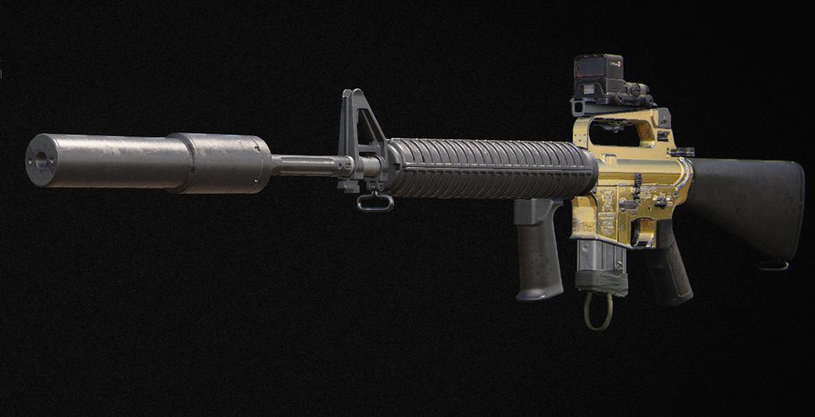 Call of Duty: Meilleures configurations à utiliser dans le multijoueur Black Ops de la guerre froide - M16
