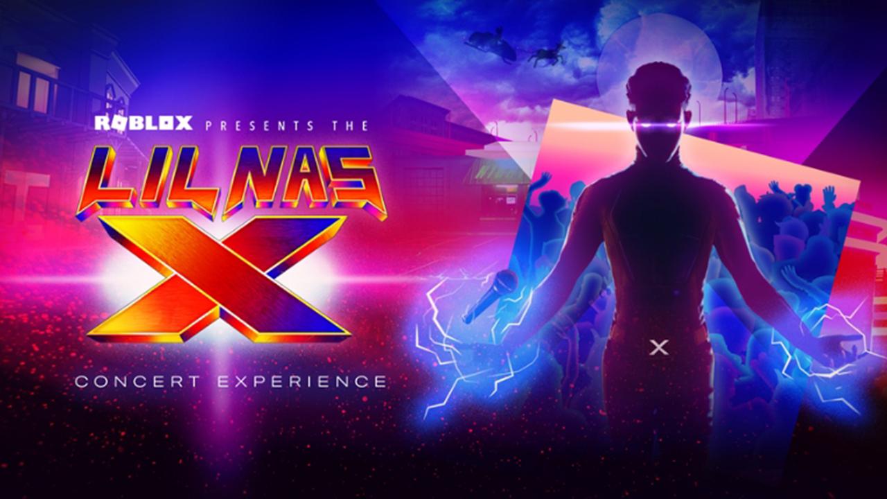 Annonce du concert Roblox Lil Nas X