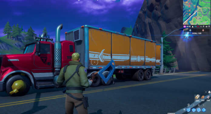 How to Deliver a Semi Truck from outside Upstate New York to Stark Industries in Fortnite