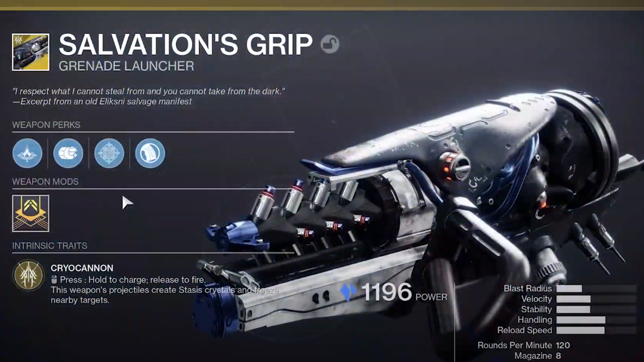 Comment obtenir la prise du salut dans Destiny 2 Beyond Light