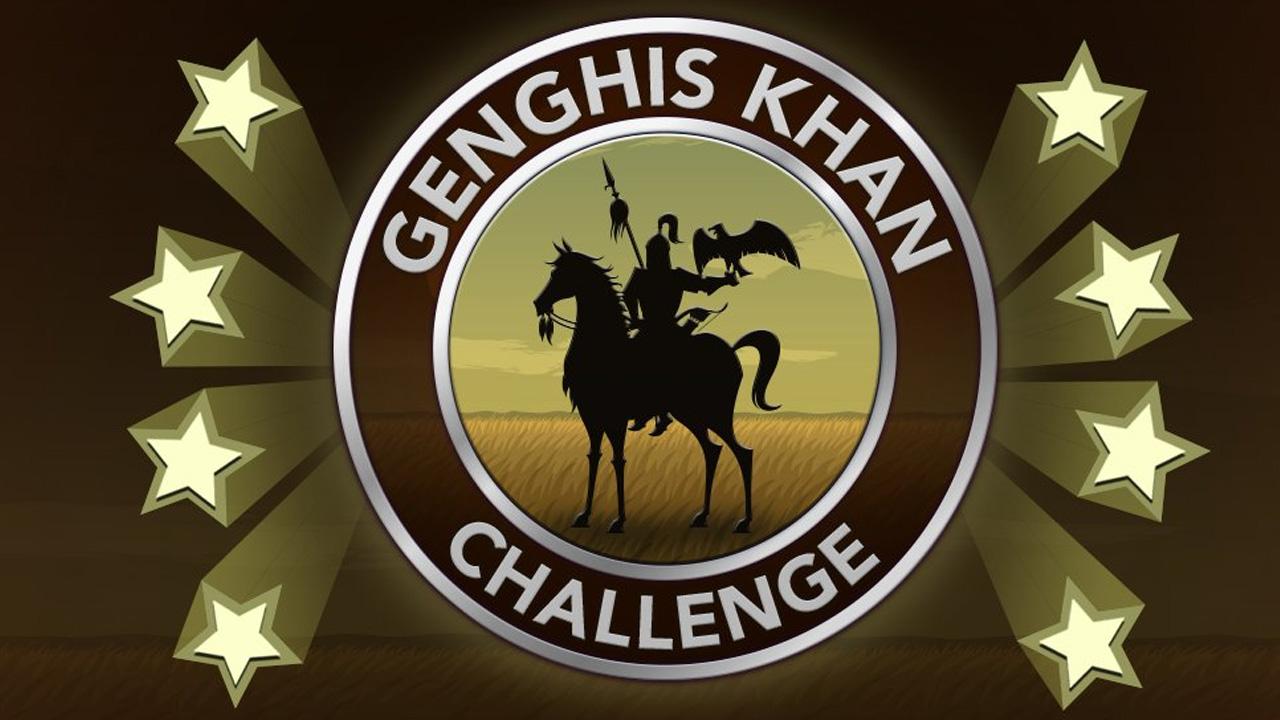 Comment terminer le défi Genghis Khan dans BitLife